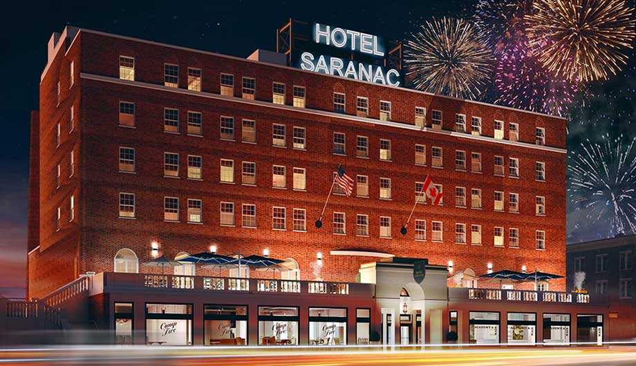 hotel saranac packages